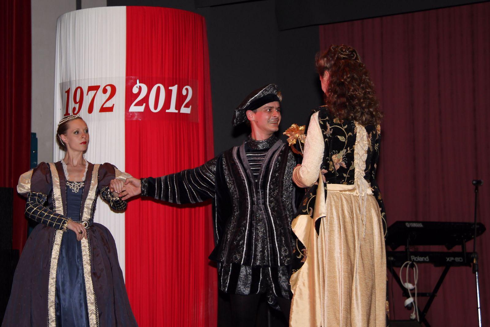 40th Anniversary Gala 21/04/2012