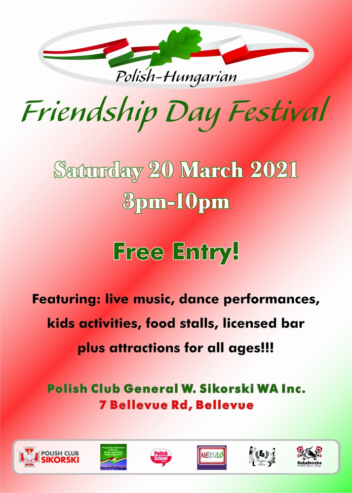 Polish-Hungarian Friendship Festival 20 March 2021