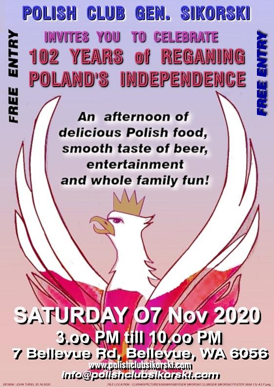 Poland's Independence Day Festival 7 November 2020